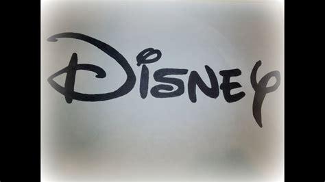 draw  disney logo logo drawing youtube