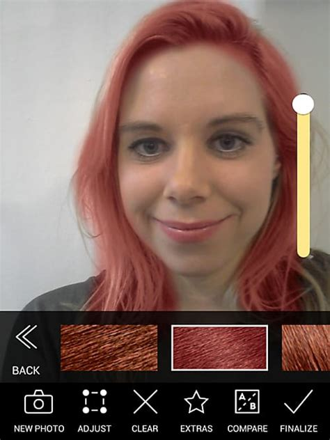 app to test hair color haarf 228 rbe app modiface hair color im test stylight