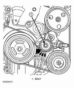 2004 Chrysler Pt Cruiser Serpentine Belt Routing And