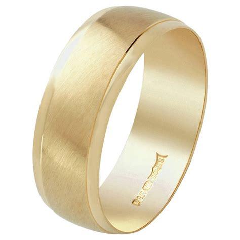 buy 9ct gold satin finish wedding ring at argos co uk your online shop for wedding
