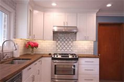 subway kitchen backsplash 1000 images about modern butcher block counters on 2598