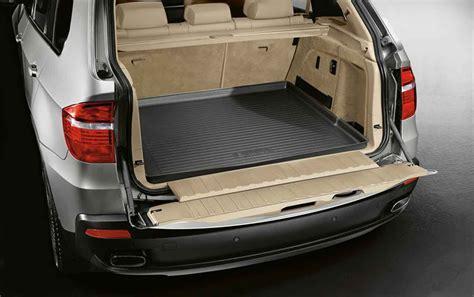 tapis de coffre sur mesure pour bmw x5 e70 dans accessoires d origine bmw gt accessoires