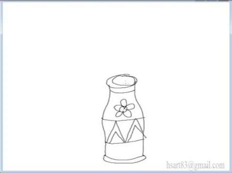 menggambar vas bunga youtube