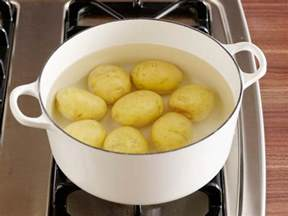 how to boil a potato how to boil potatoes food network easy comfort food recipes food network