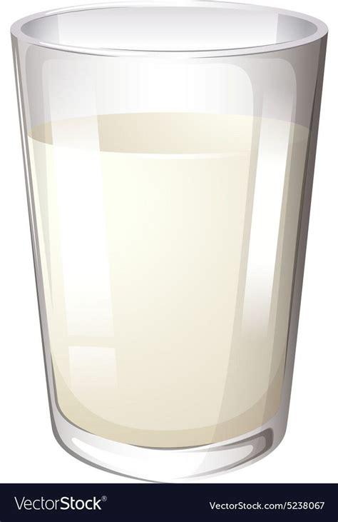 milk  glass vector image  vectorstock fresh milk