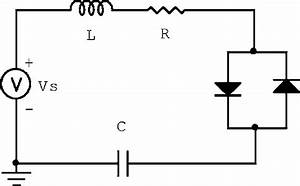 The Nonlinear Circuit Obtained From Antiparallel Diodes