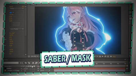 tutorial saber mask  effects pt br youtube