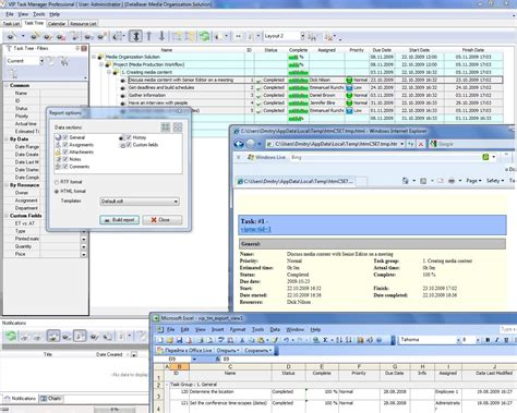 Project Management Applications