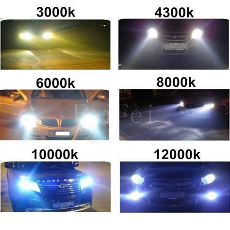 xenon 8000k 6000k hid h7 55w 4300k ac temperature kit bi