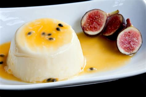 panna cotta aux fruits de la
