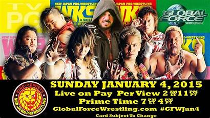 Njpw Kingdom Wrestle Wrestling Wrestlekingdom Gfw Card