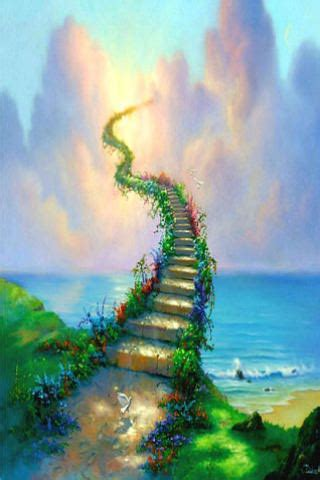 stairway  heaven iphone wallpaper mobile