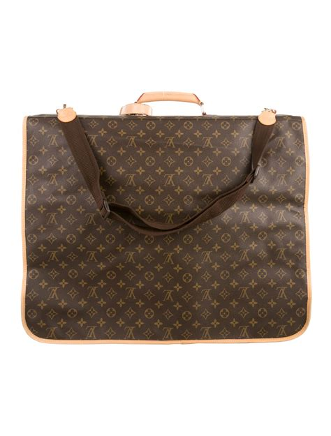 louis vuitton monogram garment bag bags lou