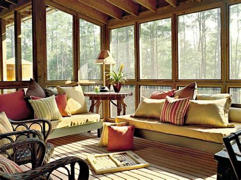 screened porch west bay idea house myhomeideas wooden daybeds with single mattresses