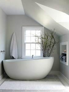 Salle De Bain Baignoire : la baignoire ovale les meilleurs id es pour votre salle ~ Dailycaller-alerts.com Idées de Décoration