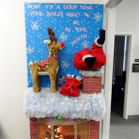 3d christmas door decorations 15 door decorations that you ll really