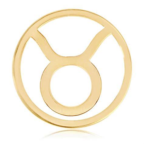 Nikki Lissoni Yellow Gold Taurus Coin Insert