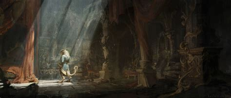 l from beauty and the beast beauty and the beast concept art by karl simon concept