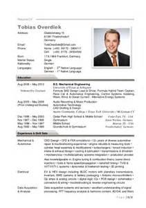 german resume template in tobias overdiek cv resume 2016 v1
