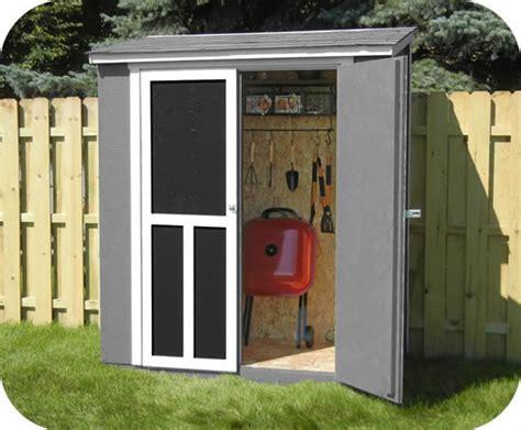 shed 6x3 handy home maumee 6x3 wood shed kit w black shingles