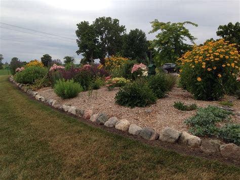 mound landscaping ideas i bet your septic mound doesn t look as pretty as this one gardening pinterest