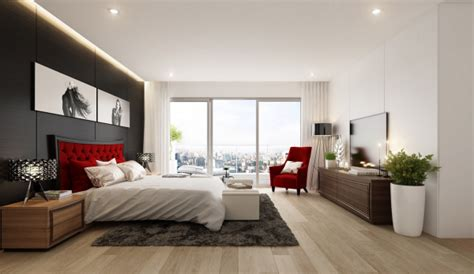 idee chambre adulte amenagement  decoration design