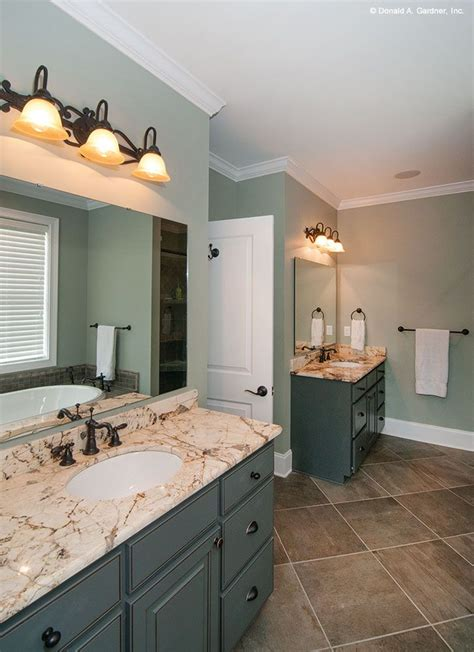 separate vanities  couples     space   ready   large master