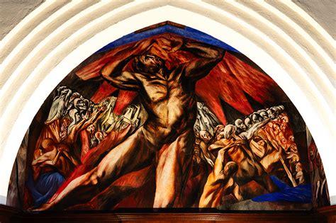 Jose Clemente Orozco Murals by Prometheus 2017 Pomona College Museum Of