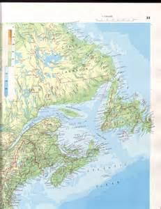 Atlantic Canada Map