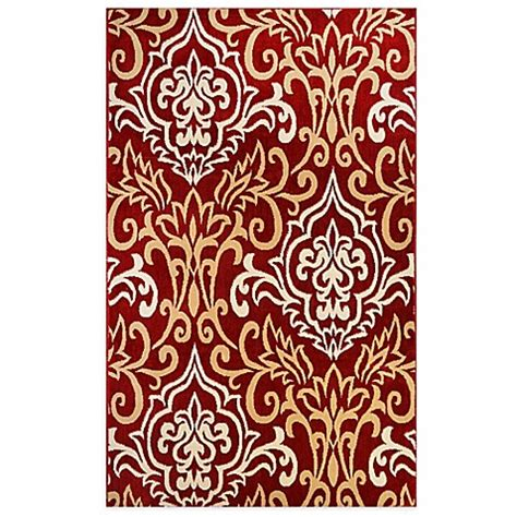 westwood accent rug westwood damask accent rug in bed bath beyond