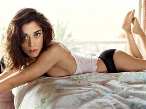 Lizzy Caplan in her Panties for Rolling Stone of the Day - DrunkenStepFather.com