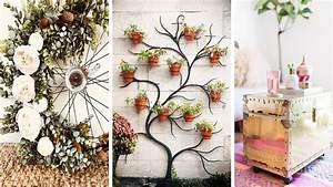 DIY VIDEOS : Diy Room Decor! 29 Easy Craft Ideas at Home ...