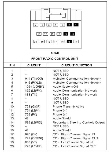 2000 Lincoln Town Car Radio Wiring by My 1999 Linclon Town Car Radio Cd Player Has No