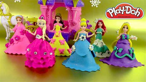 princesse en pate a modeler p 226 te 224 modeler princesse poup 233 es magiclip p 226 te scintillante sparkle play doh linkis