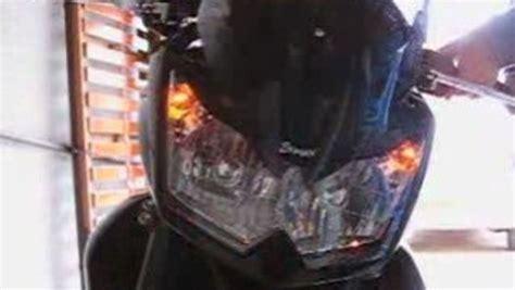 Modification Z750 by Modification Clignotants Led Avant Kawasaki Z750 Vid 233 O