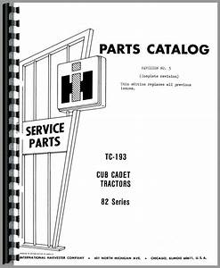 International Harvester Cub Cadet 682 Lawn  U0026 Garden