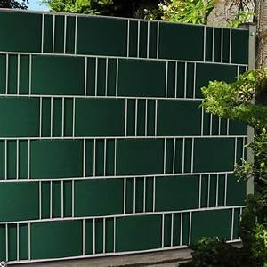 Zaun Sichtschutz Grün : sichtschutzstreifen als zaunblende hart pvc in gruen ~ Watch28wear.com Haus und Dekorationen