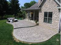 perfect patio design ideas concrete Stamped Concrete Designs — Home Ideas Collection : Stamped Concrete Designs In Perfect Finishing