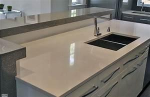 plan de travail en resine exemples de realisations en photo With plan de travail en resine pour cuisine