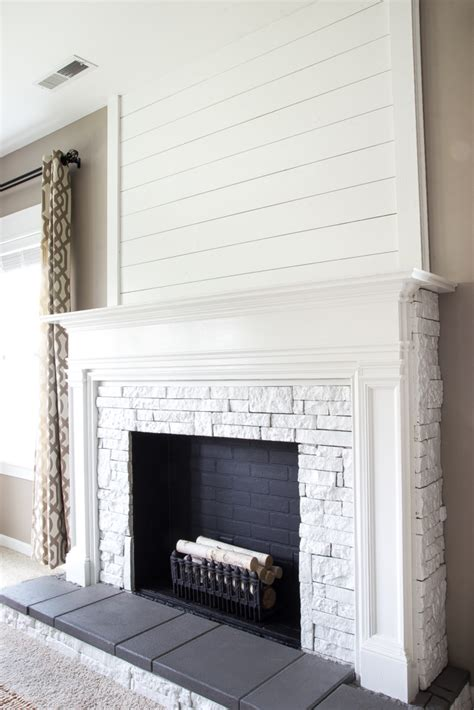 diy faux fireplace diy faux fireplace updated bless er house