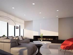 Spot Plafond Salon : spot led pour plafond encastrable zero q14 by flexalighting ~ Edinachiropracticcenter.com Idées de Décoration