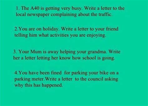 writing letter friend  holiday
