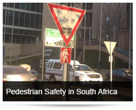 pedestrian safety south africa