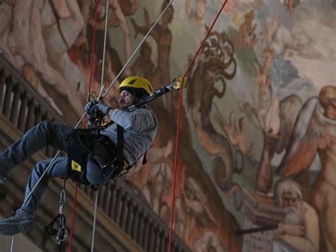 altezza cupola brunelleschi cupola brunelleschi in corso i controlli dell interno