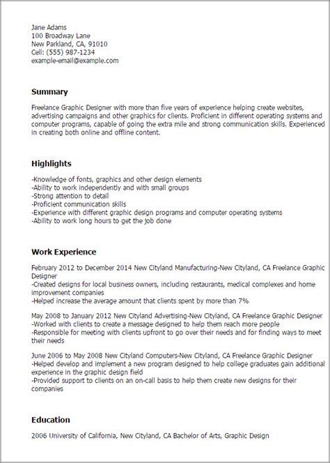 professional freelance graphic designer templates to