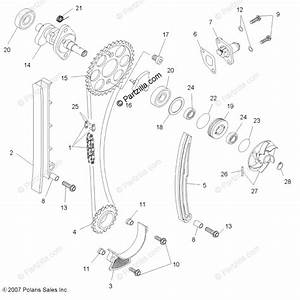 Polaris Atv 2008 Oem Parts Diagram For Engine  Timing