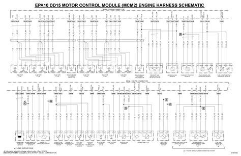 15 Schematic Wiring by Epa10 Dd15 Mcm Wiring Diagram Dd15 Troubleshooting