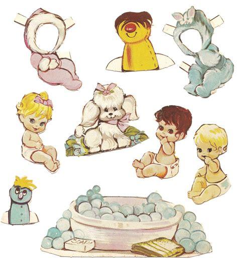 paper dolls paper doll babies