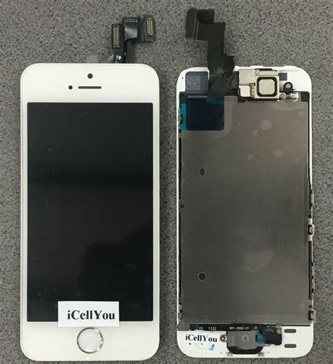 white lcd touch screen display digitizer replacement