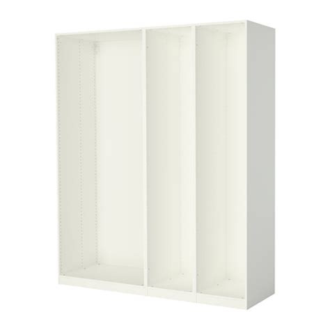 pax 3 caissons armoire blanc ikea
